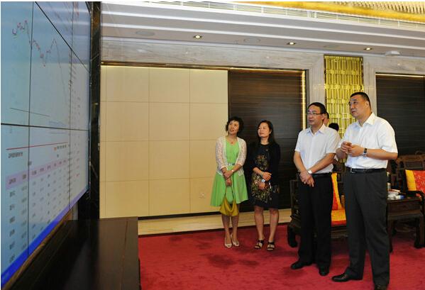 华南理工大学工商管理学院院长朱桂龙来访康美药业